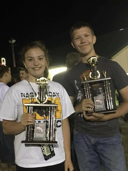 Sibling champions!