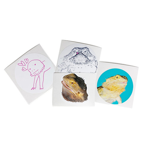 Artie Stickers (4pk)