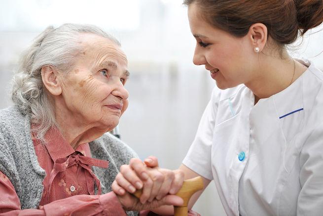 Seniorenpflege Anmeldung zum Erstgespräch