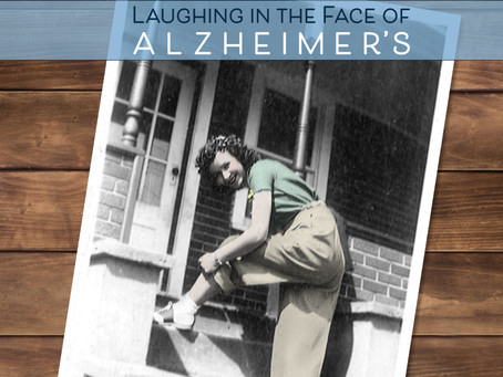 """Jinxed! Laughing in the Face of Alzheimer's"" has been Published!"