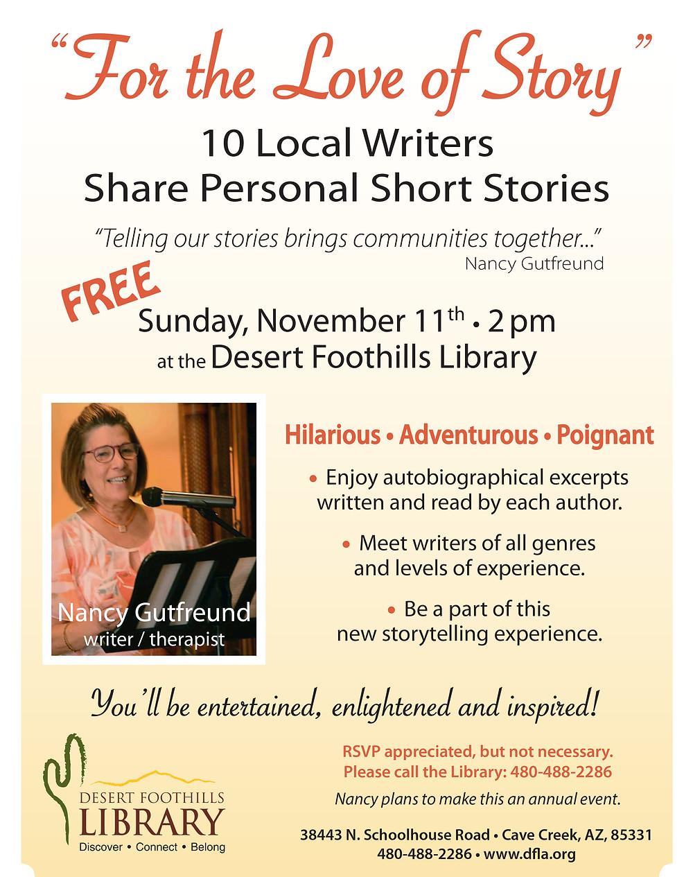 For the Love of Story, Arizona Author, Writer in Arizona, Memoir, Alzheimer Coach, Life Coach, Alzheimer Help