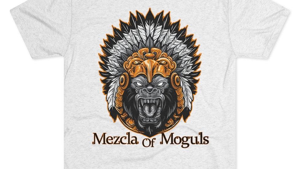 M.O.M Aztec Gorilla Men's Tri-Blend Crew Tee