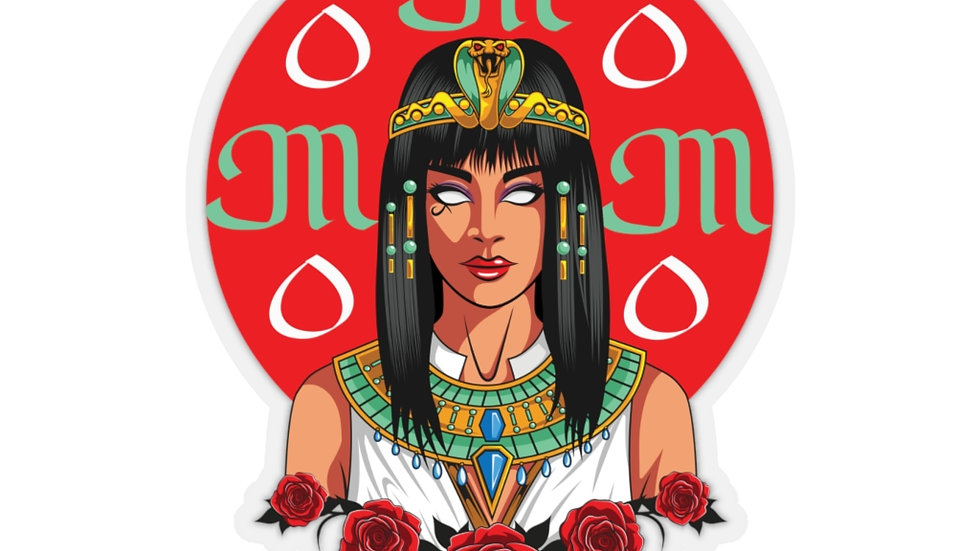 Cleopatra M.O.M Kiss-Cut Stickers
