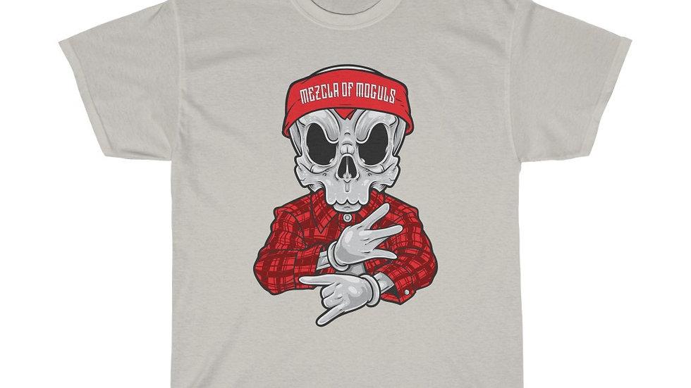 Chicano Skull M.O.M Men Boxy Heavy Cotton Tee