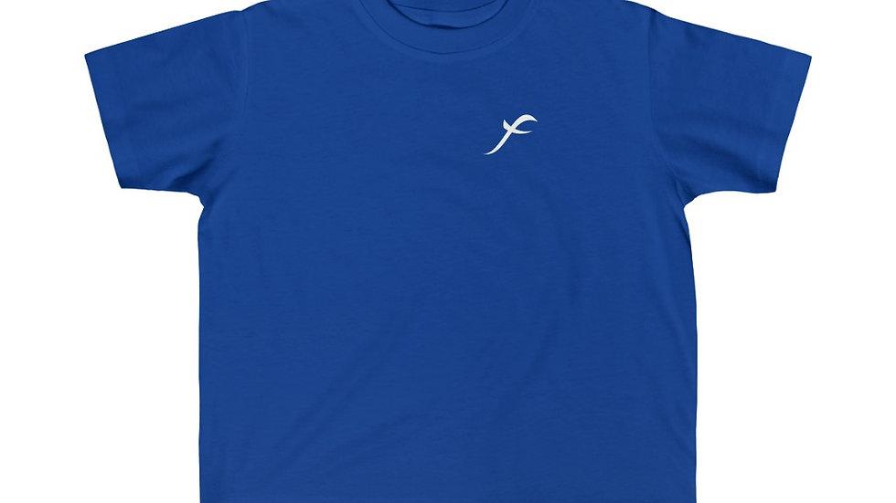 SkarxFace Visuals Logo Kid's Fine Jersey Tee
