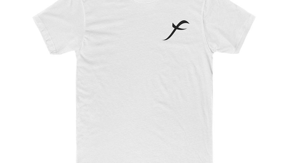 SkarxFace Visuals Logo Men's Cotton Crew Tee
