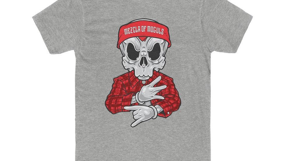 Chicano Skull M.O.M Men's Cotton Crew Tee