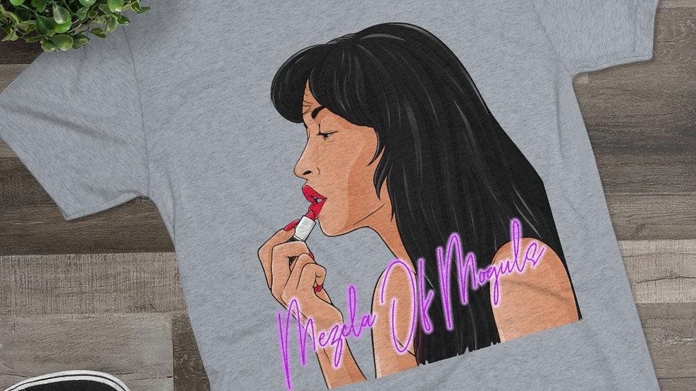 Selena M.O.M Men's Tri-Blend Crew Tee