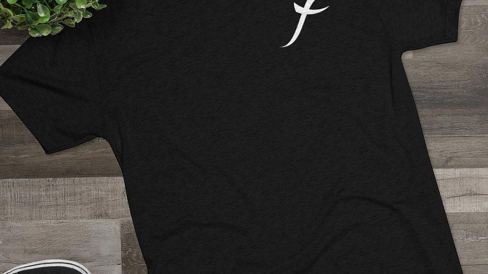 SkarxFace Visuals Logo Men's Tri-Blend Crew Tee
