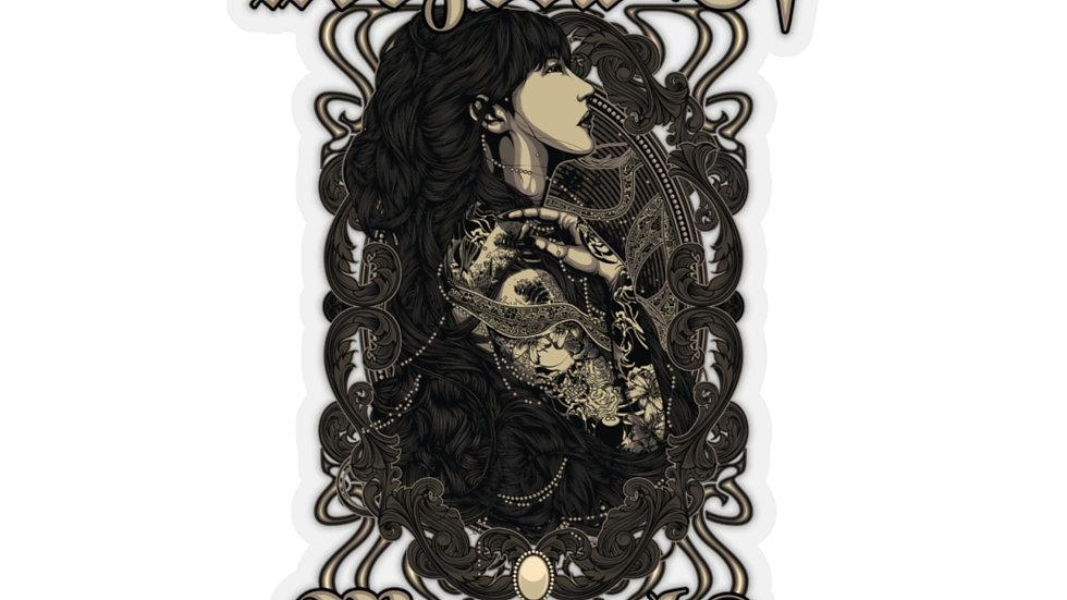 Tattoo Girl M.O.M Kiss-Cut Stickers