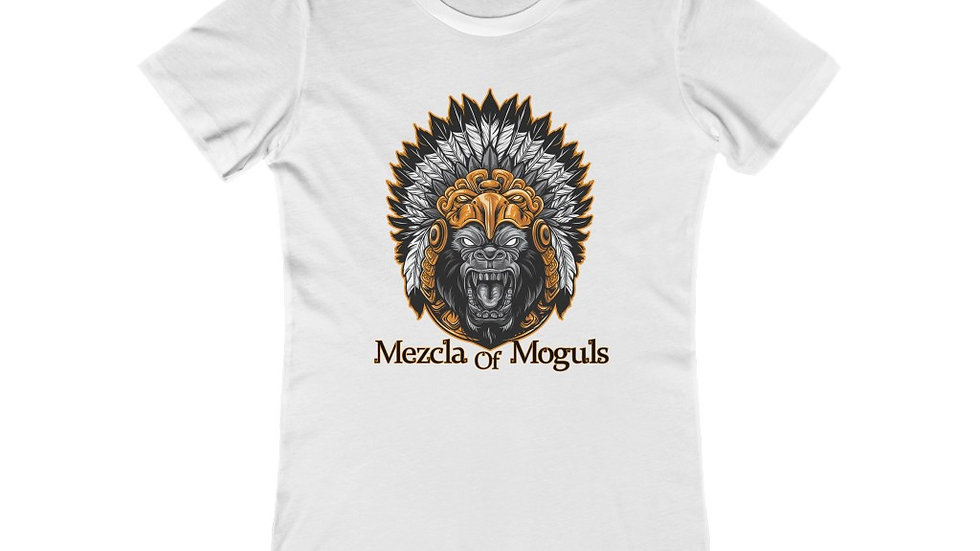 Aztec Gorilla Women's The Boyfriend Tee