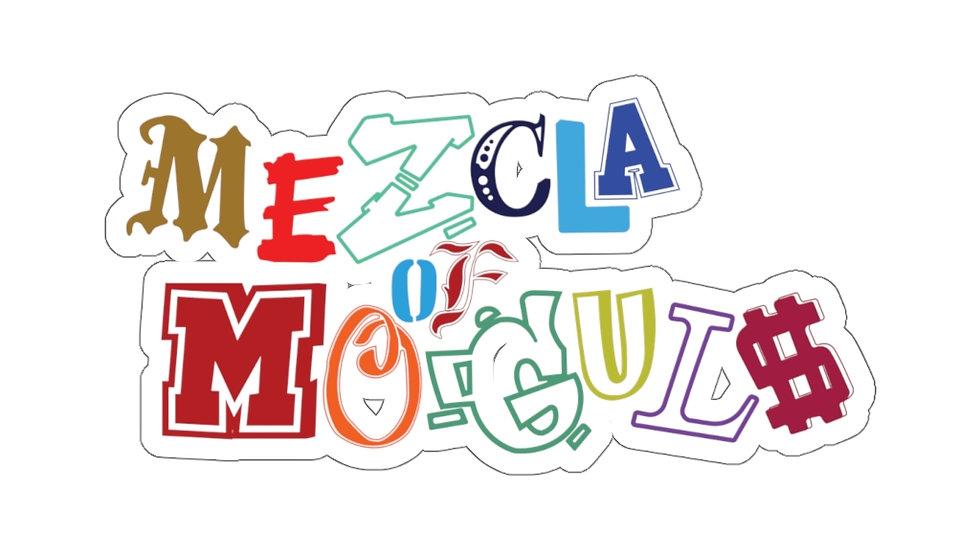 M.O.M Outline Logo Kiss-Cut Stickers