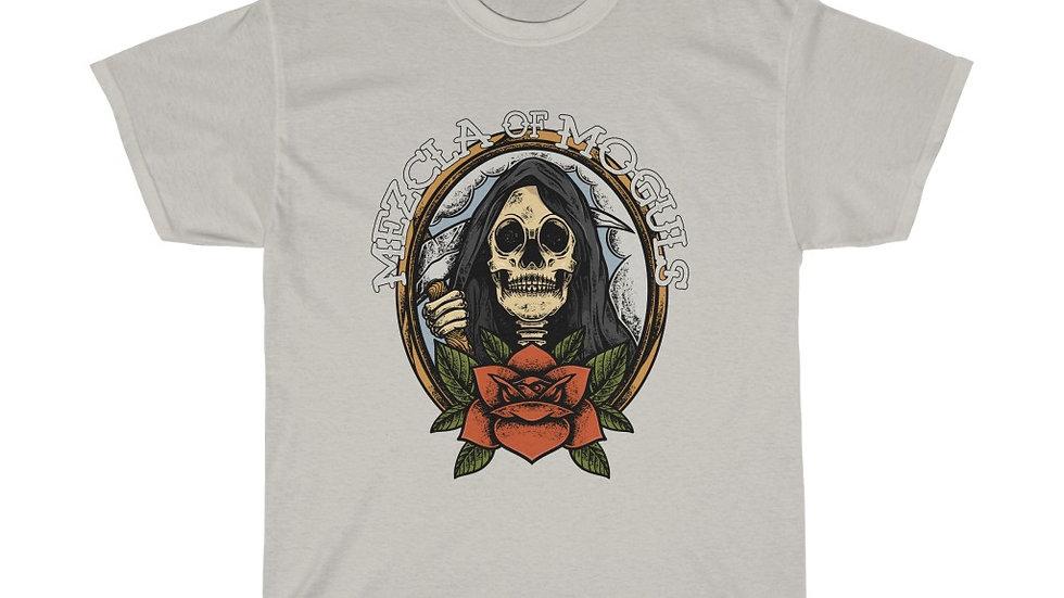 Skull Rose M.O.M Men Boxy Heavy Cotton Tee