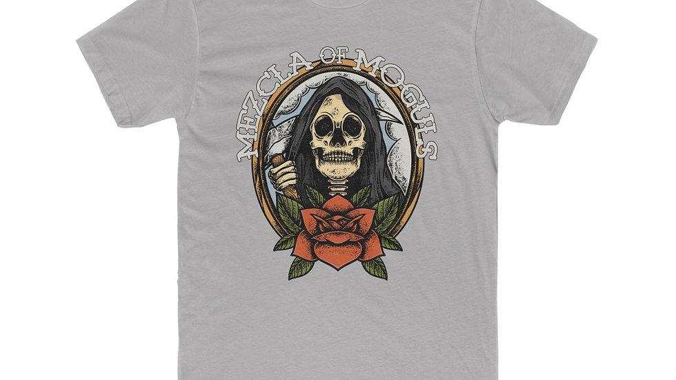 Skull Rose M.O.M Men's Cotton Crew Tee
