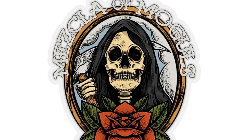 Skull Rose M.O.M Kiss-Cut Stickers