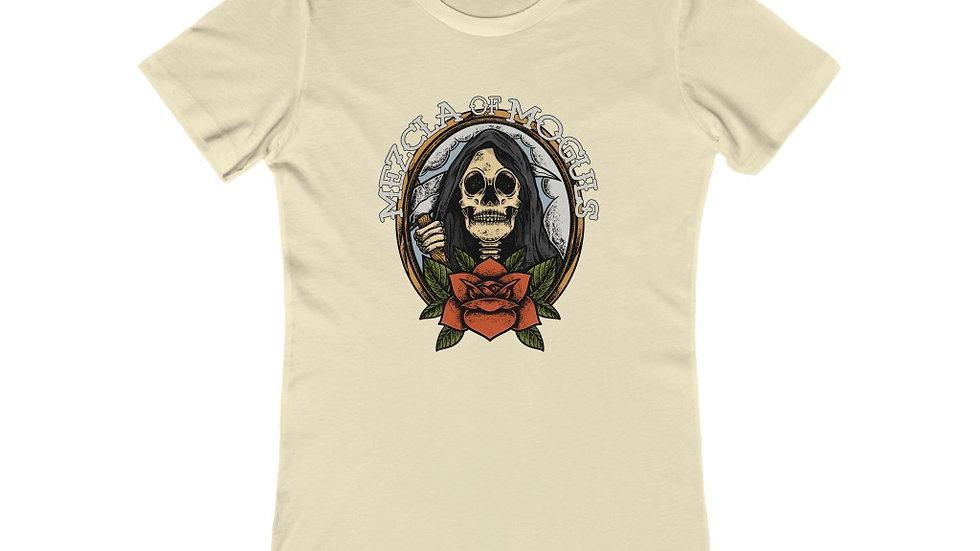 Skull Rose M.O.M Women's The Boyfriend Tee