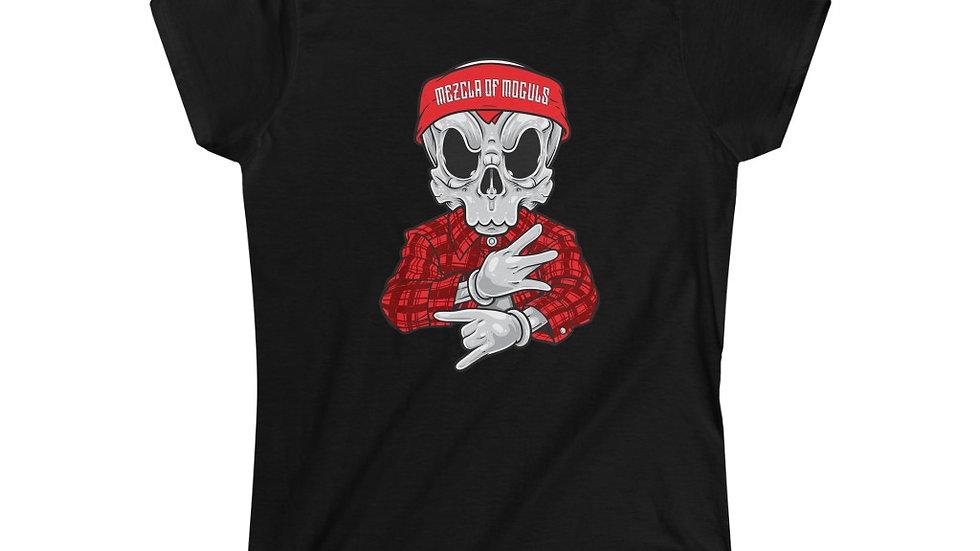 Chicano Skull M.O.M Women's Softstyle Tee