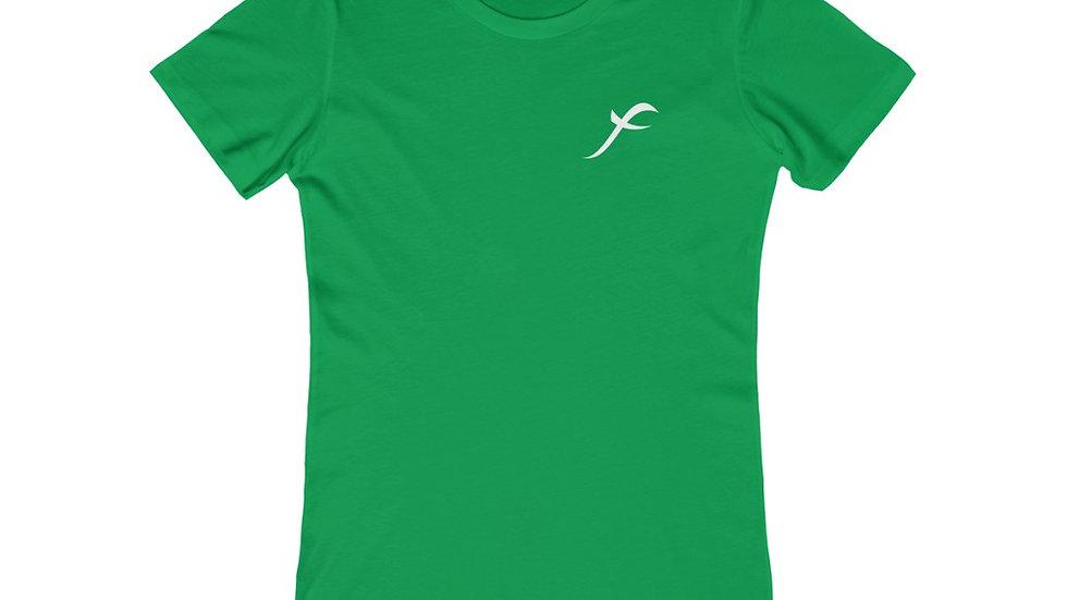 SkarxFace Visuals Logo Women's The Boyfriend Tee