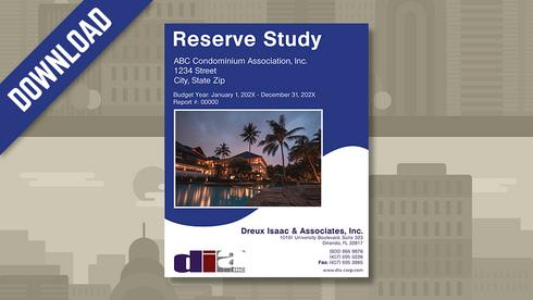 Reserve Study Samle Download