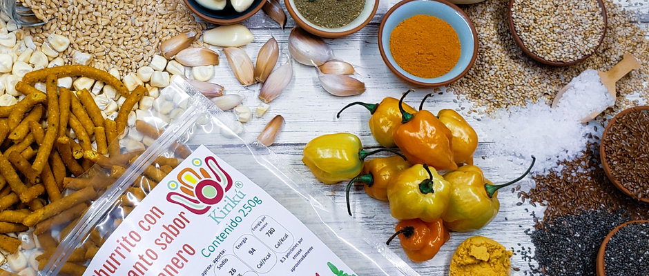 Churrito con amaranto premium sabor habanero 250g
