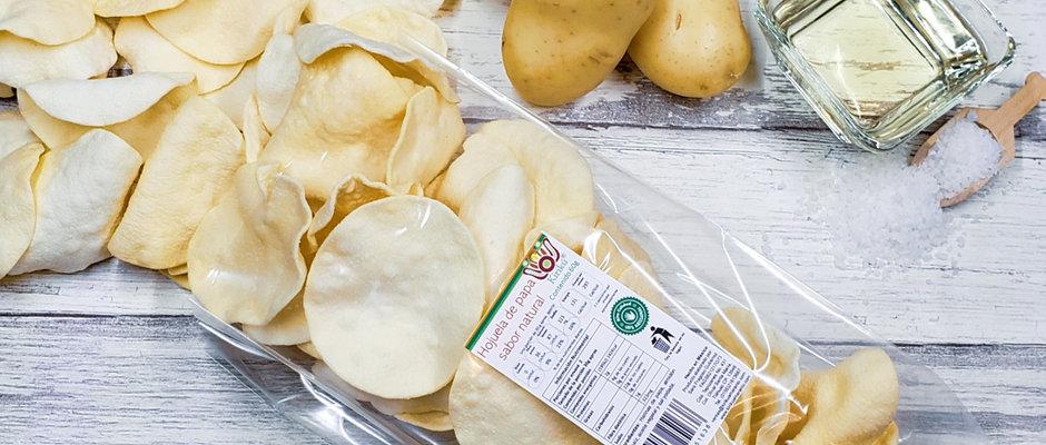 Hojuela de papa sabor natural 60g