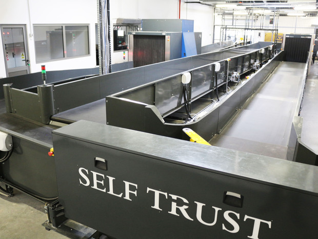 Baggage Handling Systems - BHS - Innovative systems for airport - airport conveyors