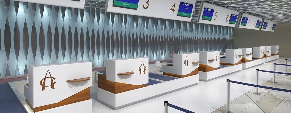 Check in Conveyors - Airport Conveyor - CITCOnveyors