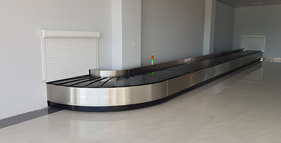 Baggage Make up Carousel - Airport Conveyor - CITCOnveyors