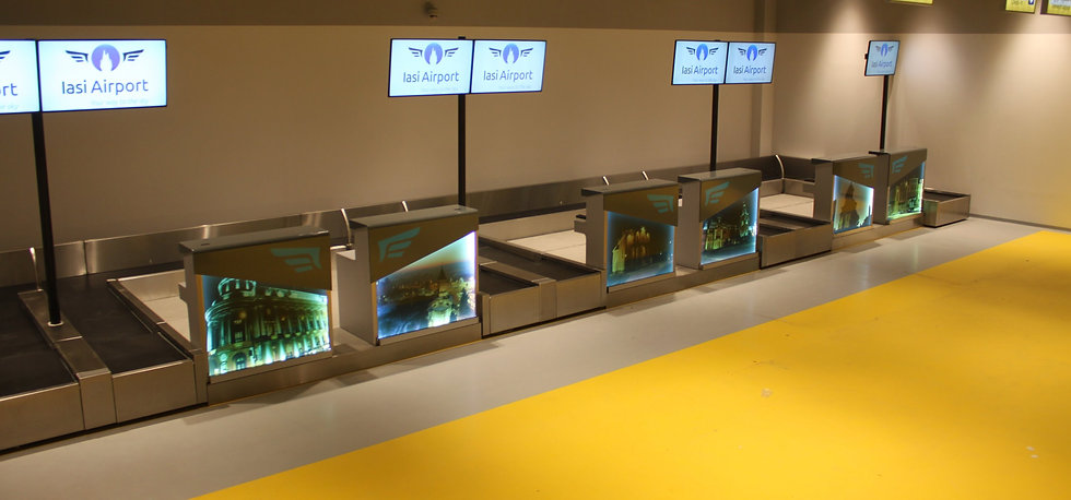 Check in Desks - Airport Conveyor - CITCOnveyors