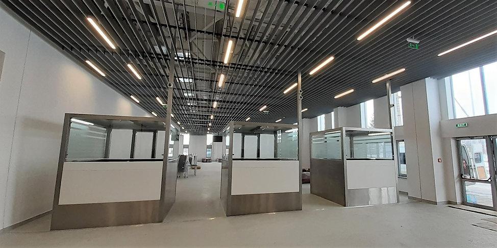 Passport Control Cabin | Immigration Counter | CITCOnveyors