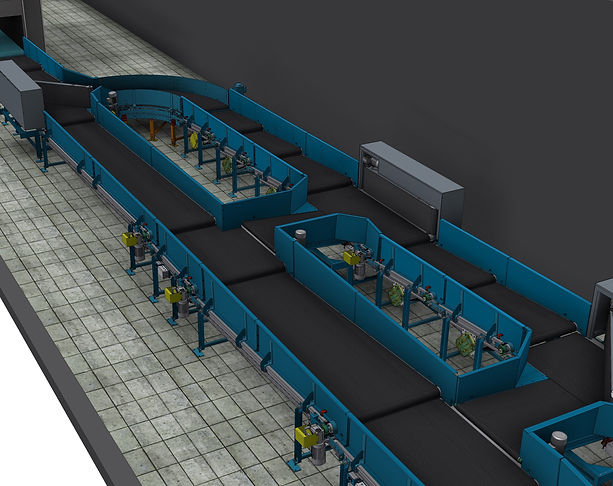 Baggage Handling System - BHS - Airport