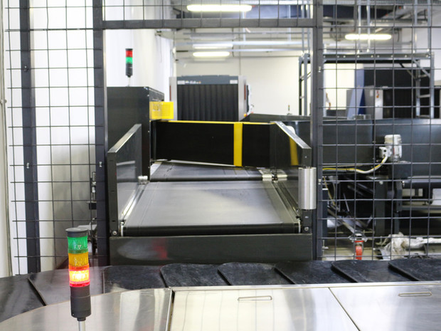 Baggage Handling System - Diverter - Baggage Diverters - Airport Suppliers - Conveyors