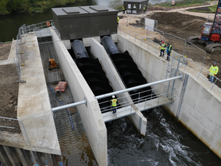 Thrybergh Hydropower Station Opens