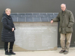 Yorkshire & Humber MEP visits Thrybergh Hydropower Station