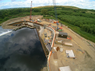 Latest Construction Video of Kirkthorpe Hydro Station