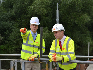 John Healey MP visits Thrybergh Hydropower