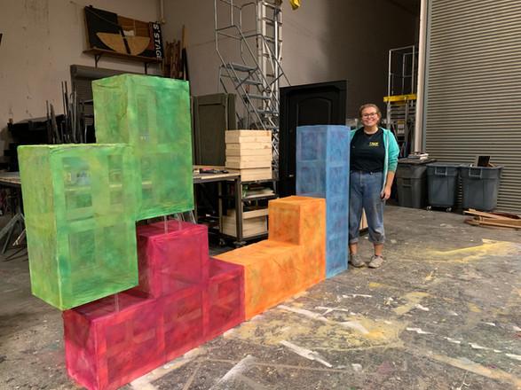 Tetris Art Installation