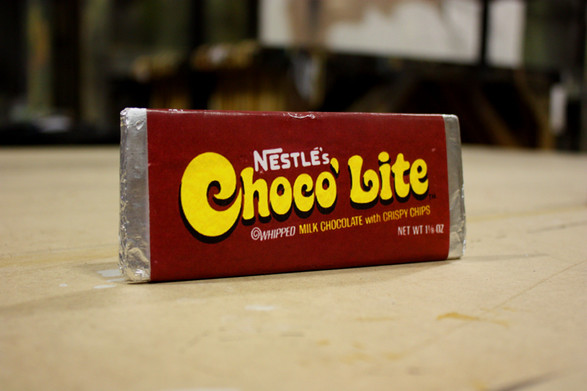 70's Wrapped Chocolate Bar
