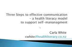 three steps to effective communication.J