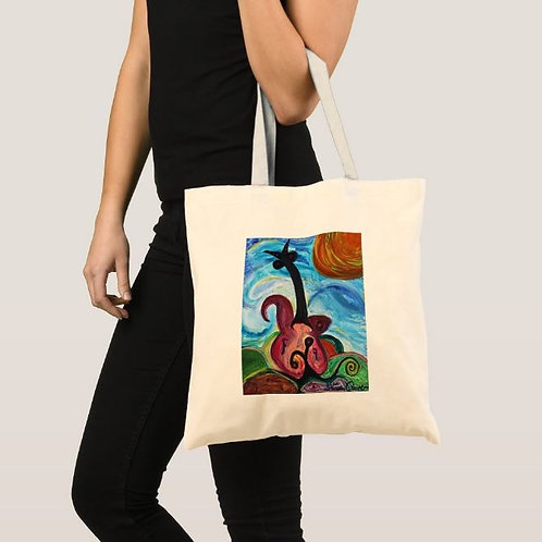 "Tote Bag ""Music is Life"""