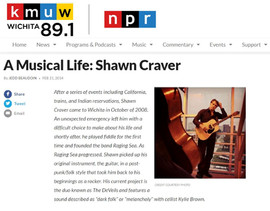 Shawn Craver National Public Radio News