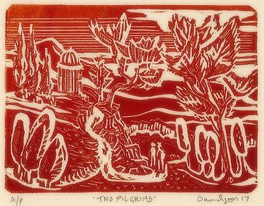Two Pilgrims relief redcream 3x4.5.JPG