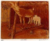 Goat Yard brown 4.5x6
