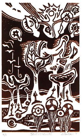 Seven Chalices relief dk brown 5x8.JPG