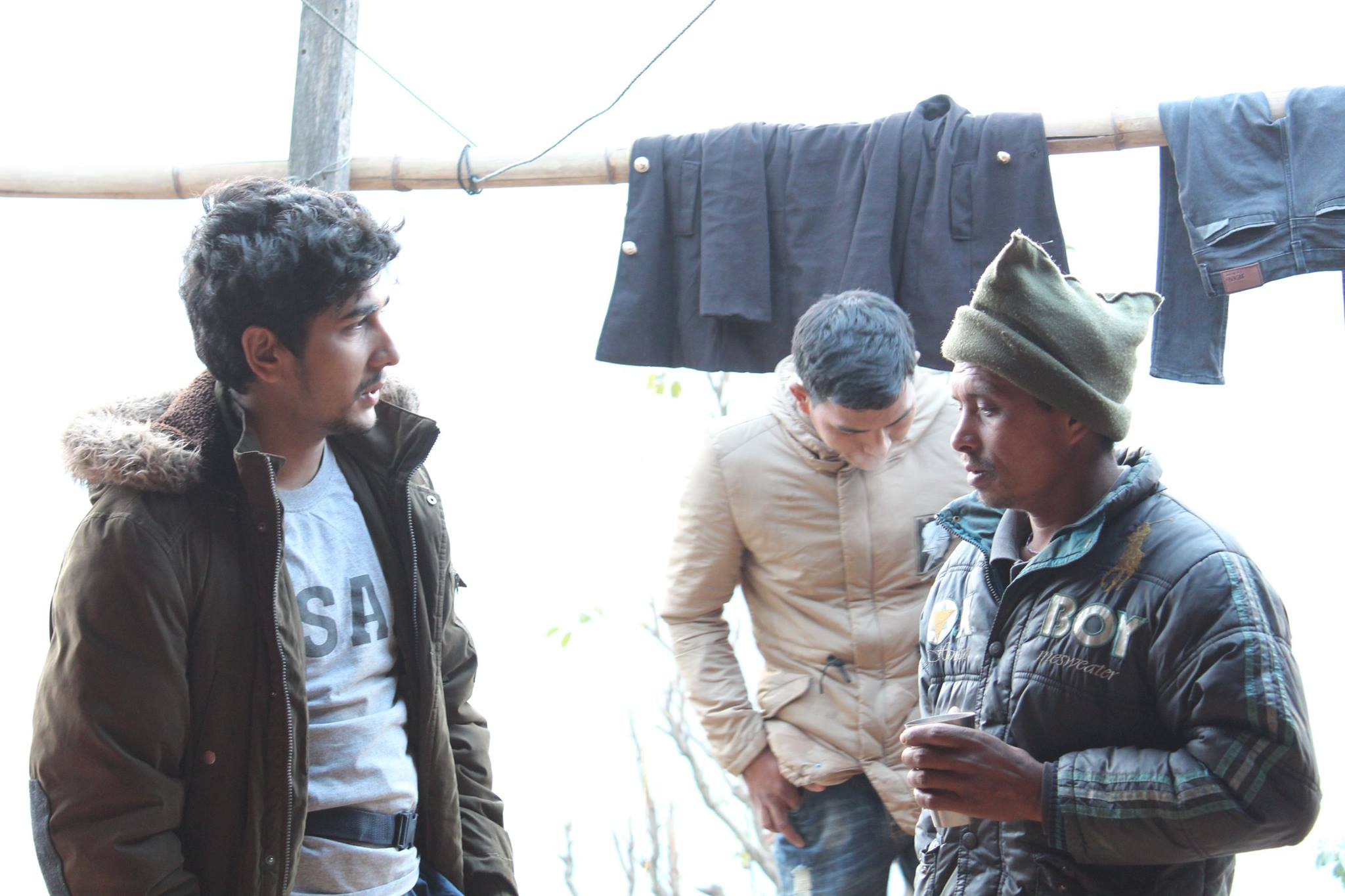 Collaborating with the villagers
