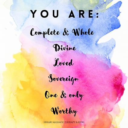 You Are Enough Empowerment Instagram Pos