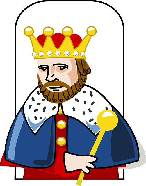 King crown beard