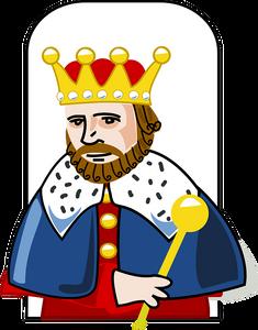 King crown beard