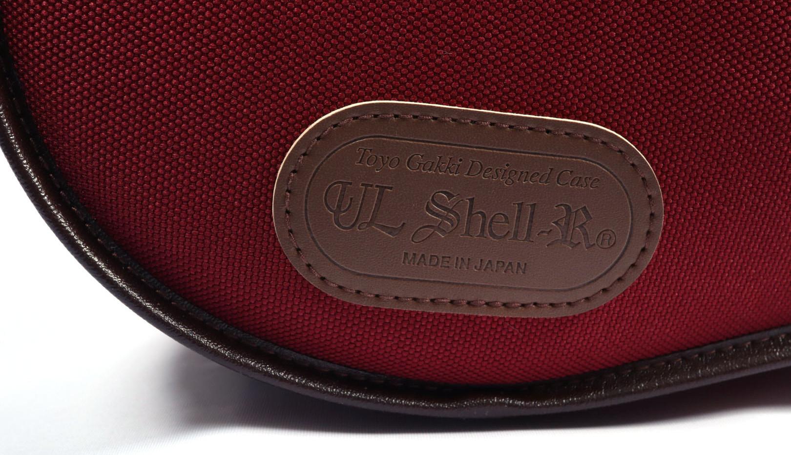 UL Shell R (Burgundy) 3/4 & 4/4