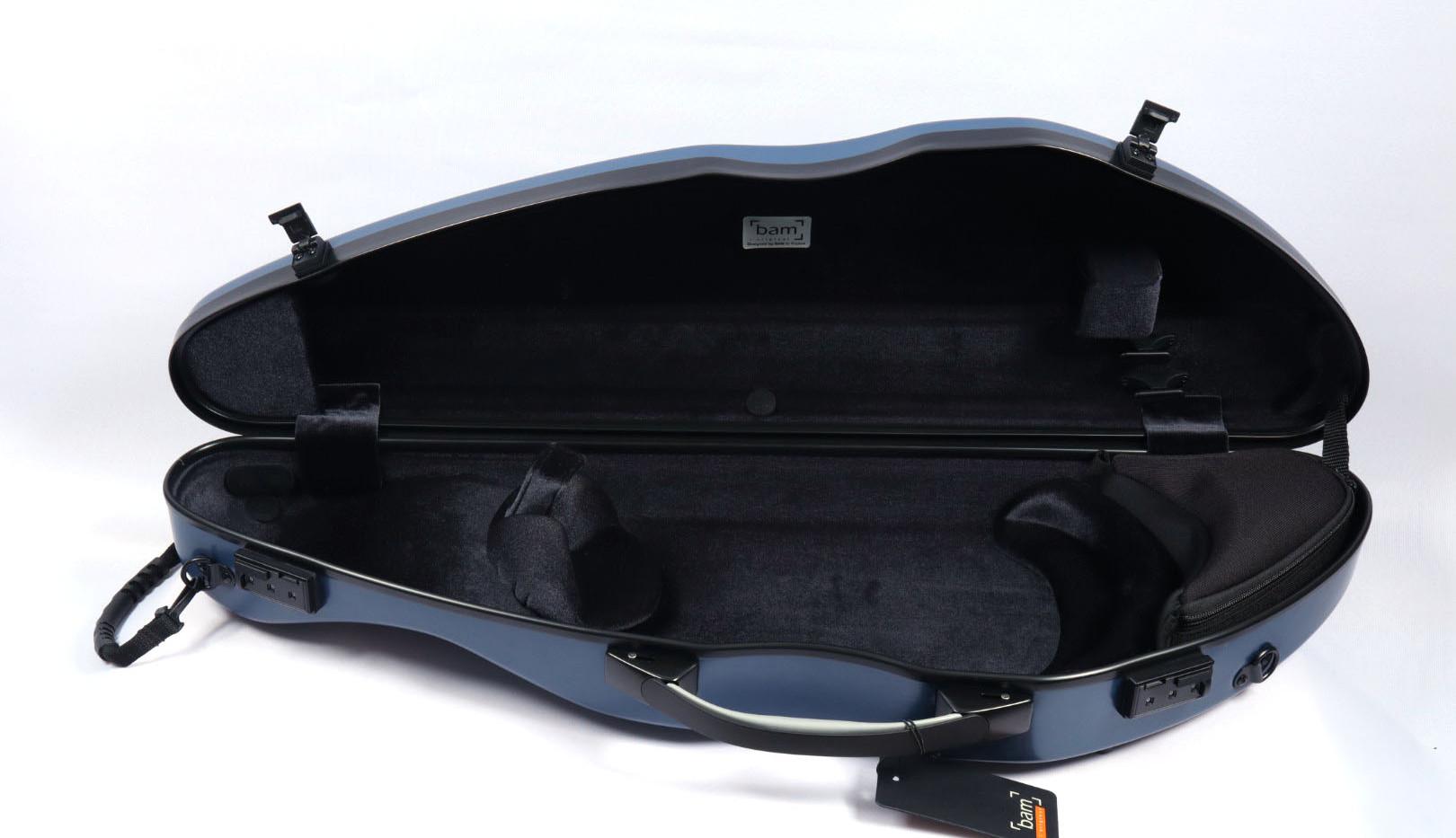 2000XLB - Hightech Slim Violin Case - Navy Blue